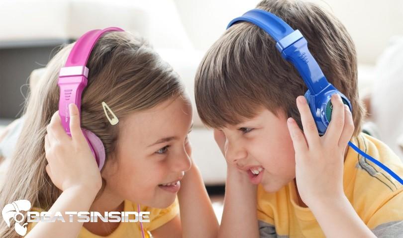 volume limiting headphones for kids