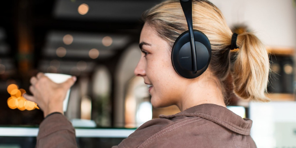 Static Noise in Headphones